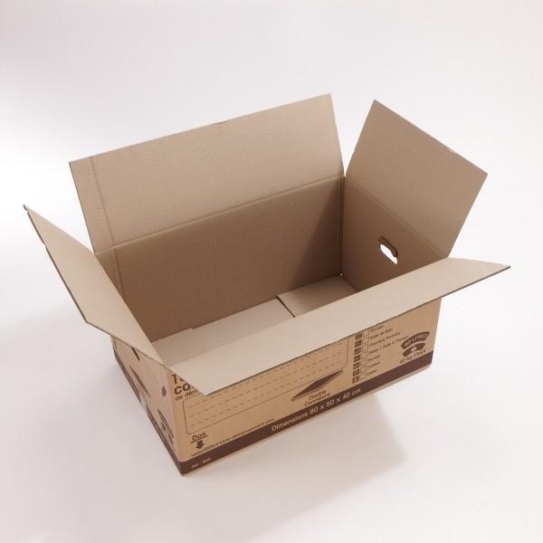 Carton double cannelure 160 litres