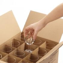 Carton 36 litres range verres