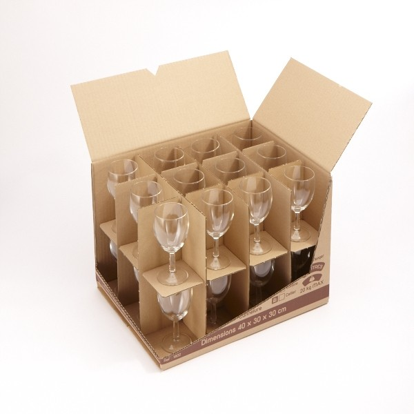 carton 36 litres range verres. Black Bedroom Furniture Sets. Home Design Ideas