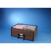 Housse de rangement sous vide valise 50 x 65 x 27cm + housse 70 x 105 x44 cm