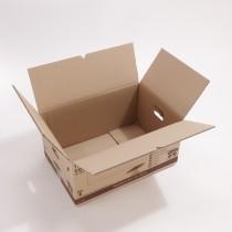 Carton double cannelure 72 litres